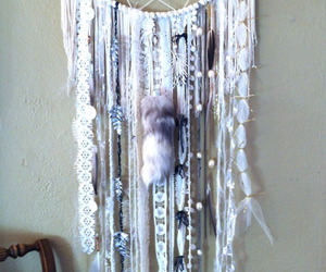 dreamcatcher, dream catcher, and white image