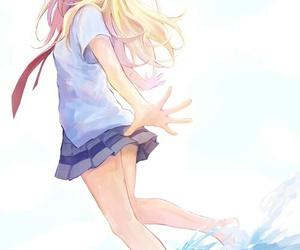 anime, kaori, and shigatsu wa kimi no uso image