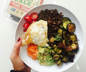 art, fit, and food image