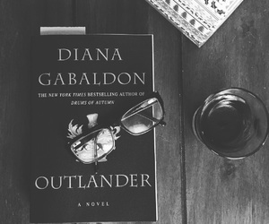 books, reading, and outlander image