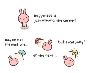happiness, chibird, and bunny image
