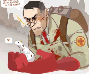 Team Fortress 2 and team fortress 2 medic image