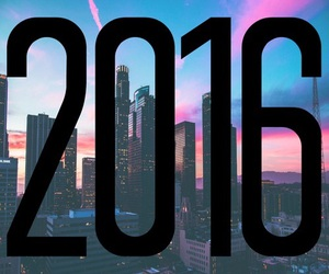 2016 and new year image