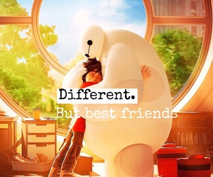 best friends, different, and hiro image
