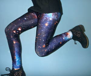 galaxy, boots, and clothes image