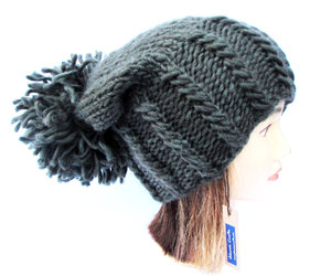 beanie, chunky, and hat image