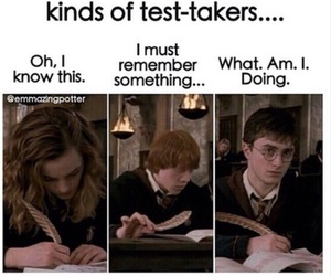 harry potter, funny, and test image