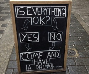 drink, quote, and funny image