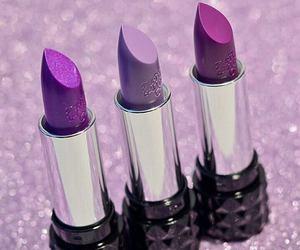 lipstick, beauty, and make up image