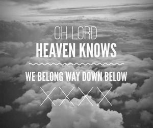 the pretty reckless, heaven knows, and Lyrics image