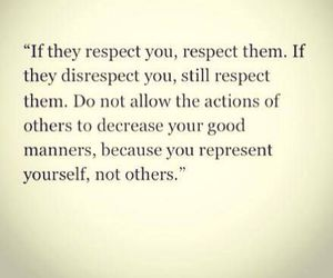 others, respect, and yourself image