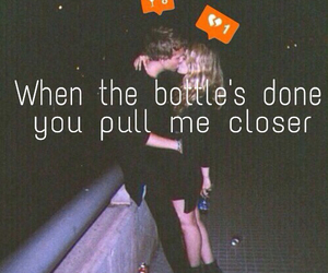 couple, drunk, and quote image