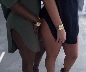 friends, dress, and goals image