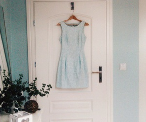 bedroom, dress, and fashion image