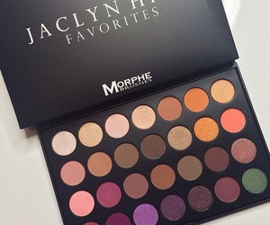 makeup, cosmetics, and palette image