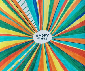 colors, happiness, and goodvibes image