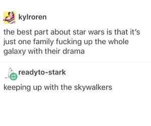 funny, starwars, and galaxy image