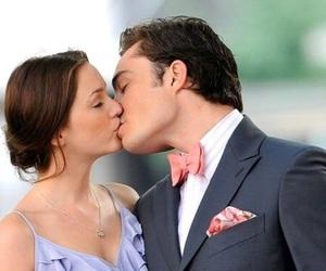 gossip girl, love, and kiss image