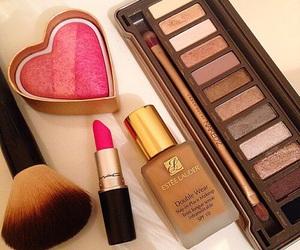 make up, lipstick, and mac image