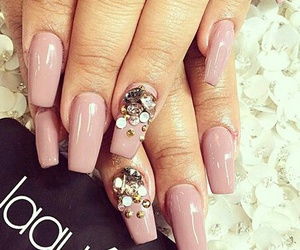 beauty, pink, and nails image
