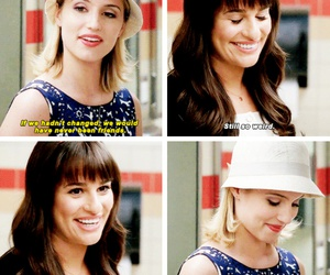 glee, lea michele, and rachel berry image