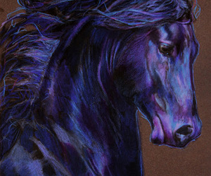 art and horse image