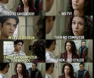 funny, teen wolf, and scott mcall image