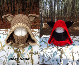 animal ears, etsy, and cowl image