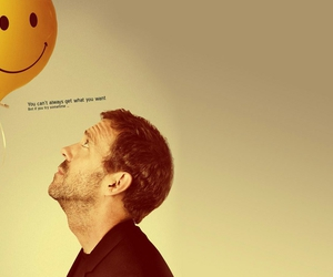 house, hugh laurie, and smile image