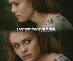 holland roden, lydia martin, and dylan obrien image