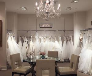shopping, wedding, and wedding dress image