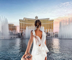 travel, Las Vegas, and couple image