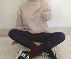 hair, hairstyle, and outfits image