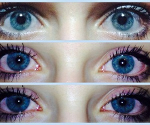 eyes, blue, and weed image