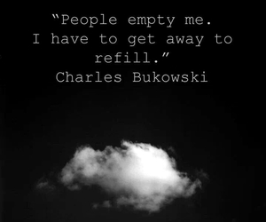 quotes, people, and Bukowski image