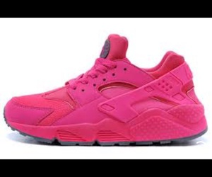 girls, pink, and sneakers image