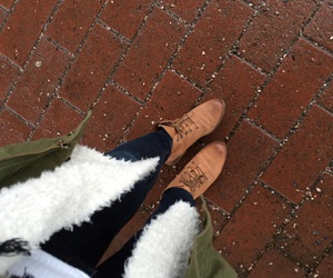 autumn, clothes, and shoes image