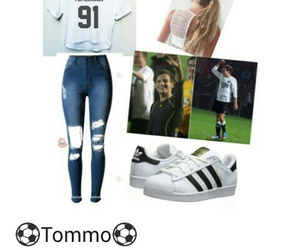 louis, Polyvore, and tomlinson image
