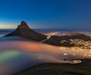 light and fog image