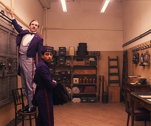ralph fiennes, the grand budapest hotel, and tony revolori image