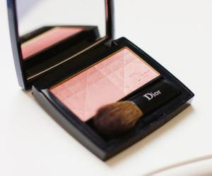 dior, makeup, and blush image