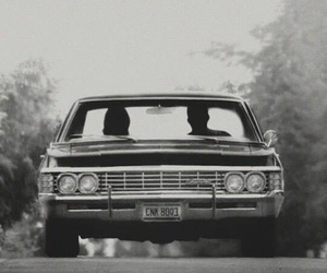 supernatural, brothers, and car image