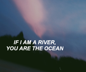 grunge, ocean, and river image