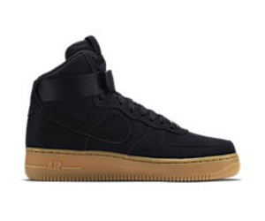 air force 1, black, and bottom image