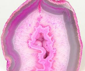 layers, rock, and pink image