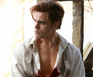 paul wesley, the vampire diaries, and stefan salvatore image