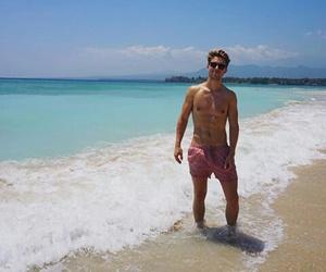beach, youtube, and boy image
