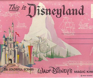 disneyland, disney, and pink image