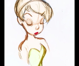 drawing and tinker bell image