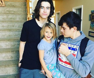 nash grier, hayes grier, and magcon image